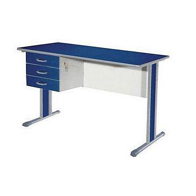 Mesa escrit rio c 3 gavetas dimovesc for Mesas de escritorio zaragoza