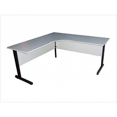 Mesa para escritorio em formato de l sem gavetas dimovesc - Mesa escritorio l ...