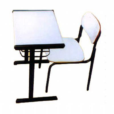 Conjunto Escolar Adulto mesa e cadeira
